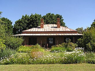 Henry Handel Richardson - Lake View House at Chiltern, Victoria, her home from July 1876 for 18 months. Her early years at Chiltern featured in the novel The Fortunes of Richard Mahony. The house was accepted by the National Trust of Australia in 1967.