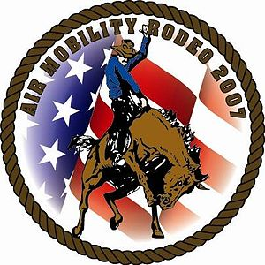 Air Mobility Rodeo - 2007 Air Mobility RODEO Logo