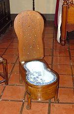 Bidet (meuble) — Wikipédia on