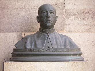 Ignaz Seipel - Memorial in the Vienna University