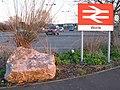 2008 at Worle station - entrance.jpg
