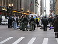2009-11-30 - Chicago Climate Justice activists in Chicago - Cap'n'Trade protest 009.jpg