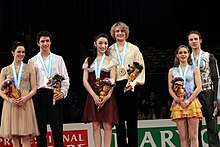 2009-2010 GPF Ice Dancing Podium.jpg