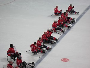 Norway men's national ice sledge hockey team - Norway's Ice Sledge Hockey team, Vancouver 2010