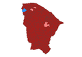 2010 Brazilian presidential election results - Ceará.PNG