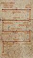 2011-10-15. Aquis Querquennis - Detalle do letreiro da vía nova romana - AQ46.jpg