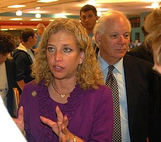 Ben Cardin - Cardin with Debbie Wasserman Schultz