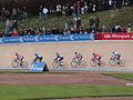 2012 Paris-Roubaix, Group- Tjallingii, Farrar, Haussler, Larsson, Petit, Palani (7070585853).jpg