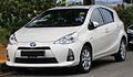 2012 Toyota Prius c in Cyberjaya, Malaysia (01).jpg
