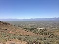 "2014-06-13 12 30 02 View east-southeast from the summit of ""E"" Mountain in the Elko Hills of Nevada.JPG"