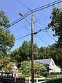 2014-08-27 13 13 04 Utility pole and street lamp at the intersection of Terrace Boulevard and Dunmore Avenue in Ewing, New Jersey.JPG