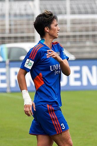 Abby Erceg - Erceg playing for FF USV Jena in 2014