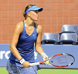 2014 US Open (Tennis) - Qualifying Rounds - Lucie Hradecka (14963499546).jpg