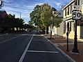 2016-08-23 18 03 30 View west along U.S. Route 50 (Braddock Street) at Cork Street in Winchester, Virginia.jpg