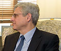 2016 March 22 Senator Bob Casey and Merrick Garland 02 (cropped to Garland shoulders).jpg