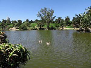 Parque Rodó - Canteras of Parque Rodó.