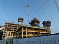 2016 Woolwich, Waterfront construction site 07.jpg