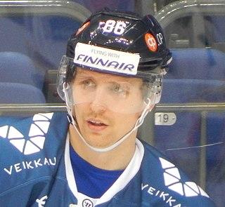 Veli-Matti Savinainen Finnish ice hockey player