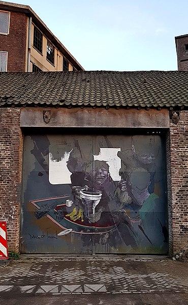 File:2018 Maastricht, Frontensingel, Kop van de Sphinx 07.jpg