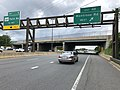 2019-06-18 12 49 19 View north along the local lanes of Interstate 270 (Washington National Pike) at Exit 4B (Montrose Road WEST) on the edge of North Bethesda and Potomac in Montgomery County, Maryland.jpg