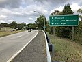 2019-09-17 11 04 29 View north along Virginia State Route 110 (Richmond Highway) at the exit for Iwo Jima Memorial-Fort Myer in Arlington County, Virginia.jpg