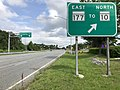 2020-06-20 09 45 41 View north along Maryland State Route 2 (Governor Ritchie Highway) at the exit for Maryland State Route 177 EAST (TO Maryland State Route 10) NORTH on the edge of Glen Burnie and Pasadena in Glen Burnie, Maryland.jpg