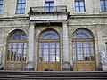 216. Гатчина. Большой дворец. Вход со стороны парка.jpg