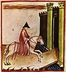 Pioggia (tacuinum sanitatis casanatense, XIV secolo)