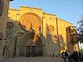 251 Monestir de Sant Cugat del Vallès, façana oest.JPG