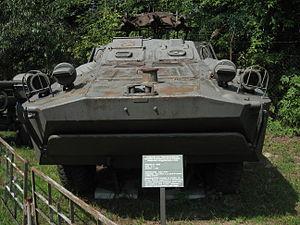 2P27 tank destroyer at the Muzeum Polskiej Techniki Wojskowej in Warsaw (2).jpg