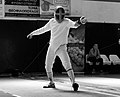 2nd Leonidas Pirgos Fencing Tournament. The fencer Vasilis Stantsios.jpg