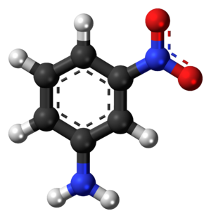 3-Nitroaniline - Image: 3 Nitroaniline 3D balls