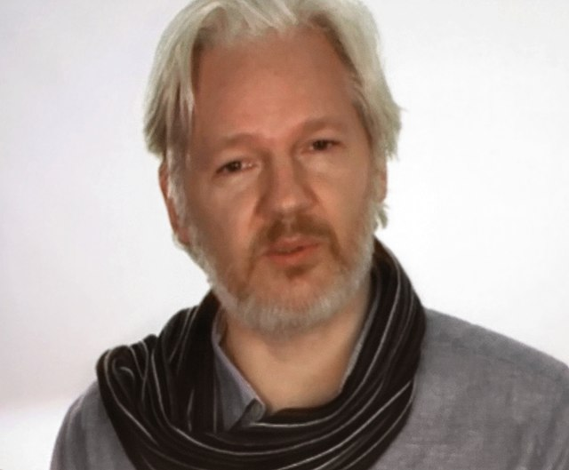 From commons.wikimedia.org: Julian Assange {MID-293330}