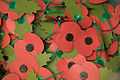 30 million poppies are made by volunteers at the Royal British Legion Poppy Factory in Richmond, Surrey each year MOD 45148162.jpg