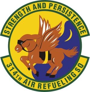 314th Air Refueling Squadron - Image: 314th Air Refueling Squadron