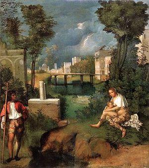 Italiano: Tempesta (Giorgione)