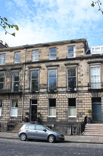 James Ormiston Affleck - Affleck's large townhouse at 38 Heriot Row, Edinburgh
