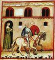 39-svaghi, equitazione,Taccuino Sanitatis, Casanatense 4182..jpg