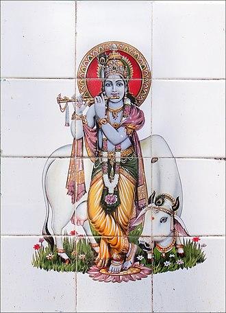 Vishnu Purana - The longest part of the Vishnu Purana is dedicated to the legend of Krishna (above).