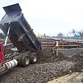 4 Contractor placing embankment fill (6965399401).jpg