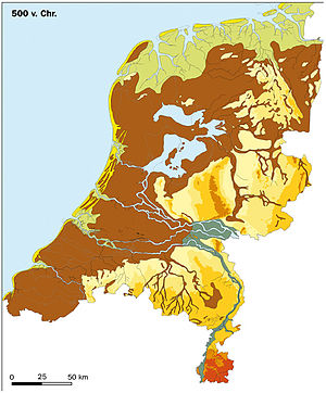 History of the Netherlands - The Netherlands in 500 BC