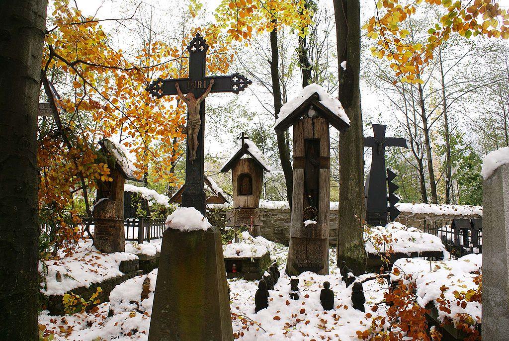 Le pittoresque vieux cimetière de Zakopane - Photo de Barbara Maliszewska