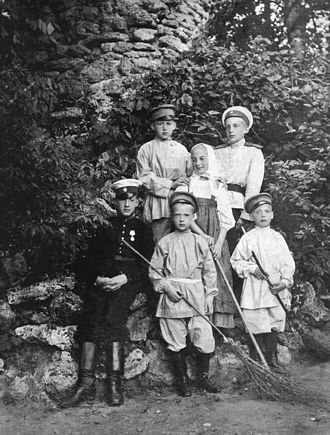 Grand Duke Konstantin Konstantinovich of Russia - Six children of Grand Duke Konstantin Konstantinovich