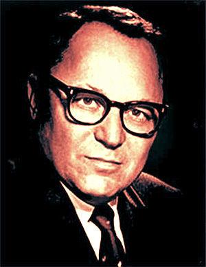 Arthur Hertzberg - Rabbi Arthur Hertzberg in 1972