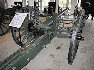 76 mm gun M1900 - Image: 76 K 00 Hämeenlinna 1