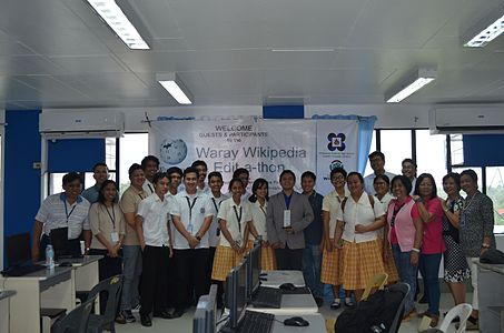 7th Waray Wikipedia Edit-a-thon 36.JPG