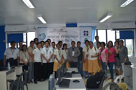 7th Waray Wikipedia Edit-a-thon 37.JPG