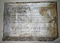 8356 Milano, chiostro di San Marco - Lapide di Girolamo Archinto - Foto Giovanni Dall'Orto 14-Apr-2007.jpg