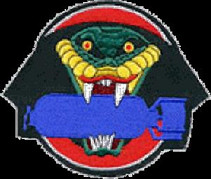 864th Bombardment Squadron - World War II squadron emblem
