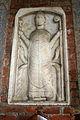 9606 - Milano - Sant'Ambrogio - Facciata - Rilievo preromanico con S. Ambrogio - Foto Giovanni Dall'Orto 25-Apr-2007.jpg